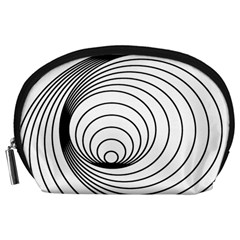 Spiral Eddy Route Symbol Bent Accessory Pouches (large)