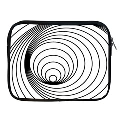 Spiral Eddy Route Symbol Bent Apple Ipad 2/3/4 Zipper Cases