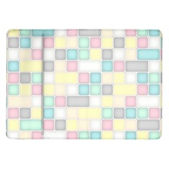 Background Abstract Pastels Square Samsung Galaxy Tab 10 1  P7500 Flip Case by Nexatart