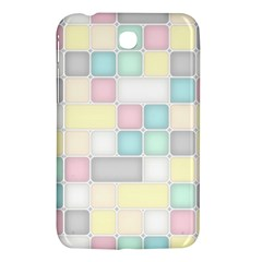 Background Abstract Pastels Square Samsung Galaxy Tab 3 (7 ) P3200 Hardshell Case