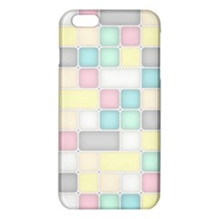 Background Abstract Pastels Square Iphone 6 Plus/6s Plus Tpu Case