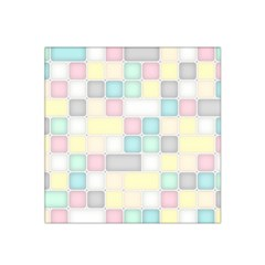 Background Abstract Pastels Square Satin Bandana Scarf