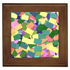 List Post It Note Memory Framed Tiles