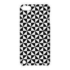 Triangle Pattern Simple Triangular Apple Ipod Touch 5 Hardshell Case With Stand