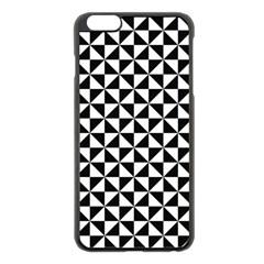 Triangle Pattern Simple Triangular Apple Iphone 6 Plus/6s Plus Black Enamel Case