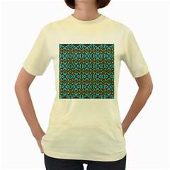Artworkbypatrick1 14 Women s Yellow T Shirt