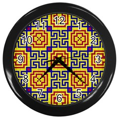 Artworkbypatrick1 16 Wall Clocks (black)