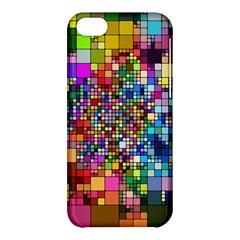 Abstract Squares Arrangement Apple Iphone 5c Hardshell Case