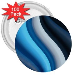 Abstract Pattern Lines Wave 3  Buttons (100 Pack)