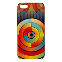Background Colorful Abstract Iphone 5s/ Se Premium Hardshell Case by Nexatart