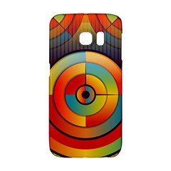 Background Colorful Abstract Samsung Galaxy S6 Edge Hardshell Case