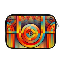Background Colorful Abstract Apple Macbook Pro 17  Zipper Case by Nexatart