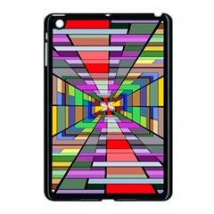 Art Vanishing Point Vortex 3d Apple Ipad Mini Case (black)