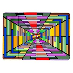 Art Vanishing Point Vortex 3d Samsung Galaxy Tab 10 1  P7500 Flip Case