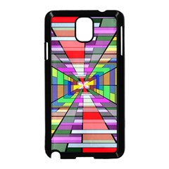 Art Vanishing Point Vortex 3d Samsung Galaxy Note 3 Neo Hardshell Case (black)
