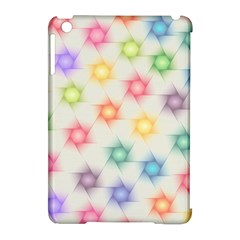 Polygon Geometric Background Star Apple Ipad Mini Hardshell Case (compatible With Smart Cover)