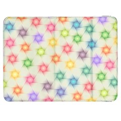 Polygon Geometric Background Star Samsung Galaxy Tab 7  P1000 Flip Case