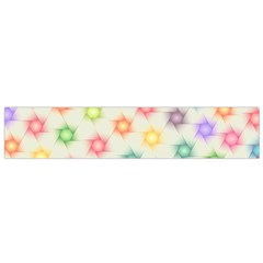 Polygon Geometric Background Star Small Flano Scarf