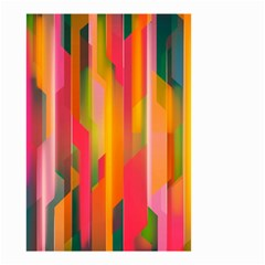 Background Abstract Colorful Small Garden Flag (two Sides)