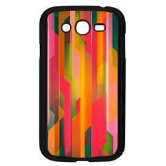 Background Abstract Colorful Samsung Galaxy Grand Duos I9082 Case (black)