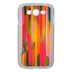 Background Abstract Colorful Samsung Galaxy Grand Duos I9082 Case (white)