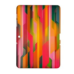 Background Abstract Colorful Samsung Galaxy Tab 2 (10 1 ) P5100 Hardshell Case