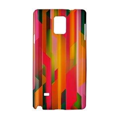Background Abstract Colorful Samsung Galaxy Note 4 Hardshell Case