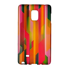 Background Abstract Colorful Samsung Galaxy Note Edge Hardshell Case