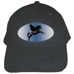 Black Pegasus Black Cap