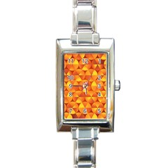 Background Triangle Circle Abstract Rectangle Italian Charm Watch