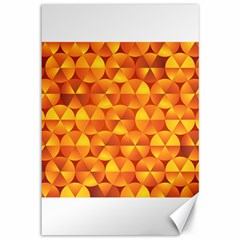Background Triangle Circle Abstract Canvas 12  X 18