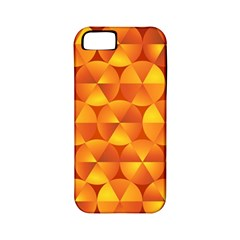 Background Triangle Circle Abstract Apple Iphone 5 Classic Hardshell Case (pc+silicone)