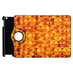 Background Triangle Circle Abstract Apple Ipad 3/4 Flip 360 Case