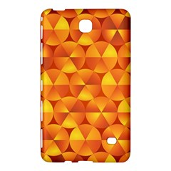 Background Triangle Circle Abstract Samsung Galaxy Tab 4 (7 ) Hardshell Case