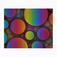 Background Colorful Abstract Circle Small Glasses Cloth by Nexatart