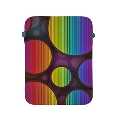 Background Colorful Abstract Circle Apple Ipad 2/3/4 Protective Soft Cases