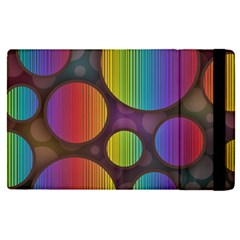 Background Colorful Abstract Circle Apple Ipad Pro 9 7   Flip Case