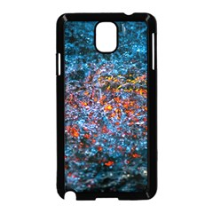 Water Color Orange Samsung Galaxy Note 3 Neo Hardshell Case (black)