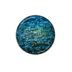 Water Color Yellow Hat Clip Ball Marker