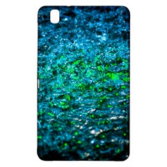 Water Color Green Samsung Galaxy Tab Pro 8 4 Hardshell Case by FunnyCow