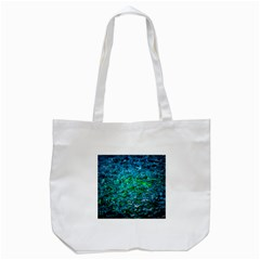 Water Color Green Tote Bag (white) by FunnyCow