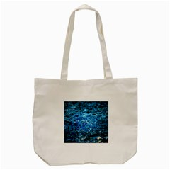 Water Color Blue Tote Bag (cream) by FunnyCow