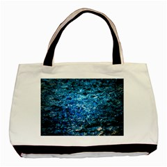 Water Color Blue Basic Tote Bag