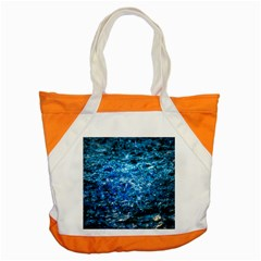 Water Color Blue Accent Tote Bag