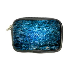 Water Color Blue Coin Purse by FunnyCow