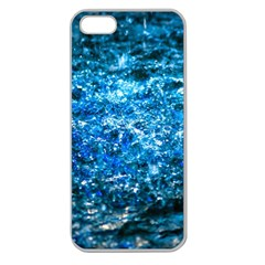 Water Color Blue Apple Seamless Iphone 5 Case (clear) by FunnyCow