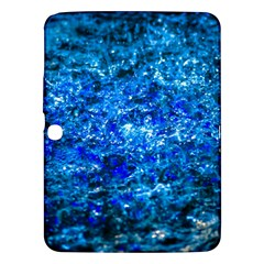 Water Color Navy Blue Samsung Galaxy Tab 3 (10 1 ) P5200 Hardshell Case  by FunnyCow
