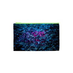 Water Color Violet Cosmetic Bag (xs) by FunnyCow