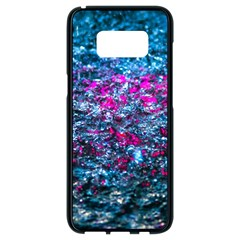 Water Color Violet Samsung Galaxy S8 Black Seamless Case