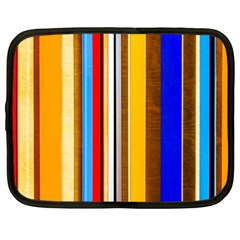 Colorful Stripes Netbook Case (xxl)  by FunnyCow